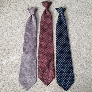 David Taylor Clip-on Ties; Make an Offer!